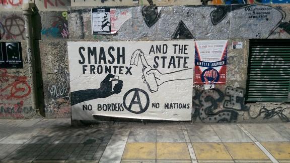 Pintades al barri d'Exarchia Foto: Isaac Besora.